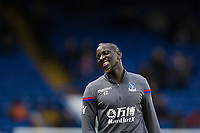 Crystal Palace's Mamadou Sakho during the pre-match warm-up <br /> <br /> Photographer Craig Mercer/CameraSport<br /> <br /> The Premier League - Chelsea v Crystal Palace - Saturday 10th March 2018 - Stamford Bridge - London<br /> <br /> World Copyright &copy; 2018 CameraSport. All rights reserved. 43 Linden Ave. Countesthorpe. Leicester. England. LE8 5PG - Tel: +44 (0) 116 277 4147 - admin@camerasport.com - www.camerasport.com