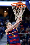 FC Barcelona Lassa's Aleksandar Vezenkov during Liga Endesa match between Real Madrid and FC Barcelona Lassa at Wizink Center in Madrid, Spain. March 12, 2017. (ALTERPHOTOS/BorjaB.Hojas)