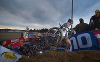 Steve Chainel (FRA)<br /> <br /> UCI Worldcup Heusden-Zolder Limburg 2013