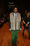 Benjamin-Émile Le Hay-Front Row-Mercedes Benz Fashion Week Douglas Hannant Fall 2013, NY 2/13/13