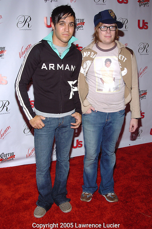 Pete Wentz and Pat Stump of Fall Out Boy
