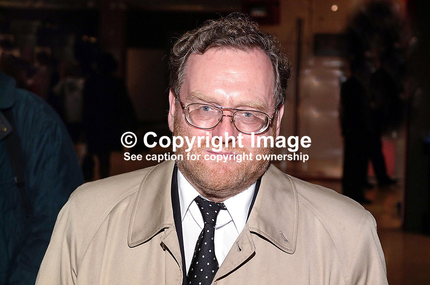 John Spellar, MP, Labour Party, England. Britain, UK, Junior minister, Annual Conference, Brighton, 200110013600..Copyright Image from Victor Patterson, 54 Dorchester Park, Belfast, UK, BT9 6RJ..Tel: +44 28 9066 1296.Mob: +44 7802 353836.Voicemail +44 20 8816 7153.Skype: victorpattersonbelfast.Email: victorpatterson@mac.com.Email: victorpatterson@ireland.com (back-up)..IMPORTANT: If you wish to use this image or any other of my images please go to www.victorpatterson.com and click on the Terms & Conditions. Then contact me by email or phone with the reference number(s) of the image(s) concerned.