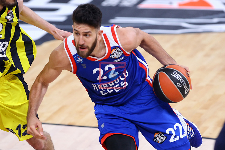 Turkish Airlines Euroleague.<br /> Final Four - Vitoria-Gasteiz 2019.<br /> Semifinals.<br /> Fenerbahce Beko Istanbul vs Anadolu Efes Istanbul: 73-92.<br /> Vasilije Micic.