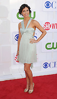 BEVERLY HILLS, CA - JULY 29: Morena Baccarin arrives at the CBS, Showtime and The CW 2012 TCA summer tour party at 9900 Wilshire Blvd on July 29, 2012 in Beverly Hills, California. /NortePhoto.com<br />