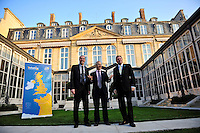 PICTURE BY Dave Winter/SWPIX.COM - Cycling- Official presentation of the 2014 Tour de France Grand Depart, at the British Ambassador's Residence, Paris, France  - 17/01/13...Copyright - Simon Wilkinson - 07811267706.....Official presentation of the 2014 Tour de France Grand Depart, in the presence of Sir Peter Ricketts (British Ambassador to France), Gary Verity (Chief Executive of Welcome to Yorkshire) and Christian Prudhomme (Director of the Tour de France).............