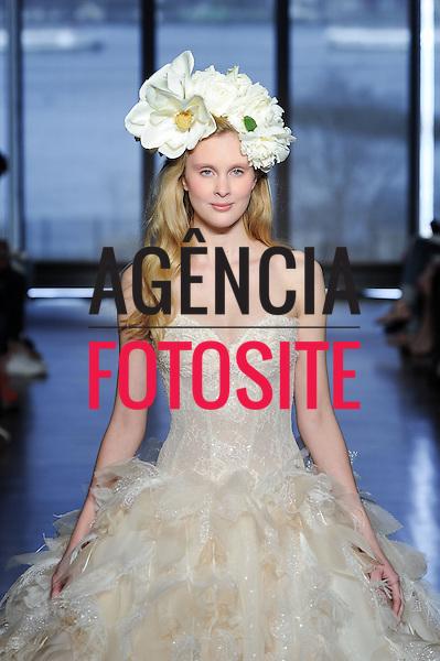 Designer : Ines di Santo<br /> Bridal Fashion Week SS15, New York April 2014