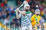 Martin Stackpoole Lixnaw in action against  Kilmoyley during the Senior Kerry County Hurling Semi Finals between Lixnaw v Kilmoyley at Austin Stack park on Saturday last.