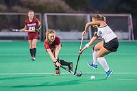 Stanford, CA -- September 14, 2017. Stanford Women's Field Hockey vs.UOP at Varsity Field Hockey Turf. Stanford won 1-0.
