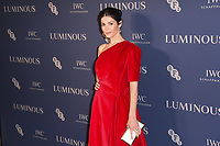 Gemma Arterton<br /> arriving for the LUMINOUS Gala 2019 at the Roundhouse Camden, London<br /> <br /> ©Ash Knotek  D3522 01/10/2019