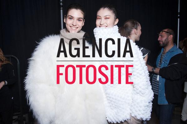 Nova Iorque, EUA &ndash; 02/2014 - Desfile de Helmut Lang durante a Semana de moda de Nova Iorque - Inverno 2014. <br /> Foto: FOTOSITE