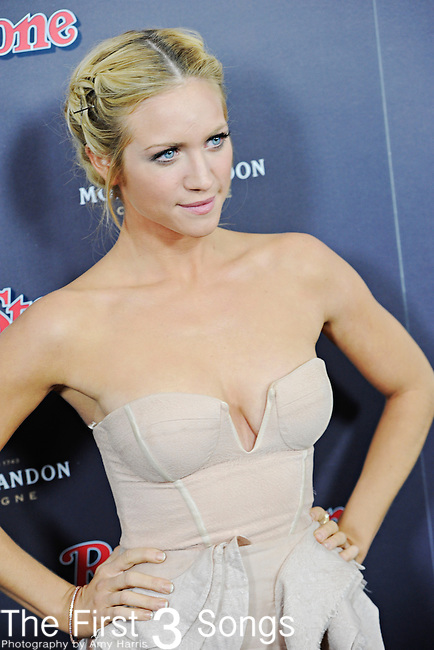 Actress Brittany Snow attends the 2010 American Music Awards VIP After Party hosted by Rolling Stone Magazine at the Rolling Stone Restaurant & Lounge in Los Angeles, California.