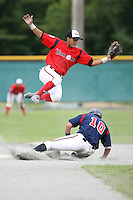 July 27th, 2007:  Rolando Gomez during the Cape Cod High School Classic presented by Under Armour at Spillane Field in Wareham, MA.  Photo by:  Mike Janes/Four Seam Images