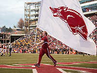 Hawgs Illustrated/BEN GOFF <br /> Arkansas vs Missouri Friday, Nov. 24, 2017, at Reynolds Razorback Stadium in Fayetteville.