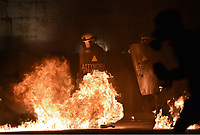 2017 05 18 Clashes between protesters and riot police in Athens, Greece