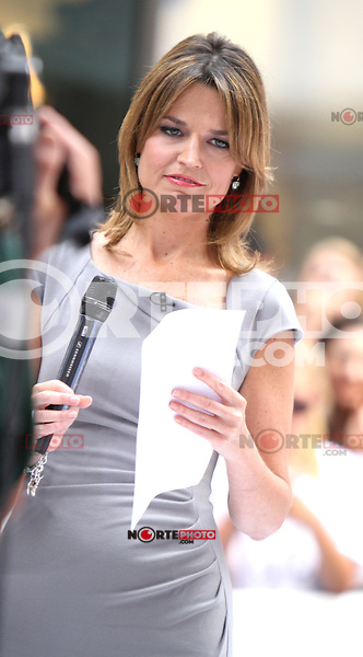 June 28, 2012 Savannah Guthrie,  host of Today Day at the  Toyota Concerts Series  at the Today Show in New York City.Credit:&copy; RW/MediaPunch Inc. *NORTEPHOTO.COM*<br /> **CREDITO*OBLIGATORIO** *No*Venta*A*Terceros* *No*Sale*So*third* *No*Se *Permite*Hacer*Archivo**