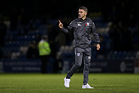 Bury Caretaker Manager, Ryan Lowe, makes a point at the final whistle during Gillingham vs Bury, Sky Bet EFL League 1 Football at the MEMS Priestfield Stadium on 11th November 2017