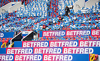 Picture by Allan McKenzie/SWpix.com - 07/10/2017 - Rugby League - Betfred Super League Grand Final - Castleford Tigers v Leeds Rhinos - Old Trafford, Manchester, England - The brief, Leeds flags.