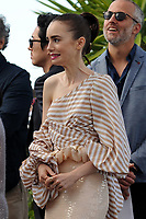 Lily Collins at the Photocall &acute;OKJA` - 70th Cannes Film Festival on May 19, 2017 in Cannes, France.<br /> CAP/LAF<br /> &copy;Lafitte/Capital Pictures /MediaPunch ***NORTH AND SOUTH AMERICAS, CANADA and MEXICO ONLY***