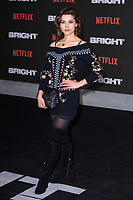 Amber Rose Revah at the European premiere for &quot;Bright&quot; European premiere at the BFI South Bank, London, UK. <br /> 15 December  2017<br /> Picture: Steve Vas/Featureflash/SilverHub 0208 004 5359 sales@silverhubmedia.com