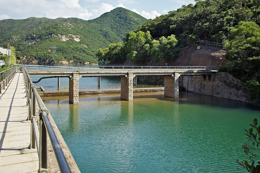 Masonry bridge from the masonry aqueduct of the Tai Tam Upper Reservoir (1883-1888).<br /> <br /> Twenty-One structures (together with the Bowen Road aqueduct) make up he 88th Declared Monument on Hong Kong Island.