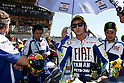 May 23, 2010 - Le Mans, France - Valentino Rossi is pictured on the grid prior the French Grand Prix at le Mans circuit, France, on May 23, 2010. (Photo Andrew Northcott/Nippon News).