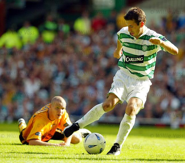 Lian Miller, Celtic.stock season 2003-04..pic willie vass