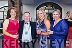 Stephanie Trevyaud, Paul Sherry Chamber of Commerce Gillian and Michelle Morris at the Kerry Garda ball in the Killarney Oaks Hotel on Friday night