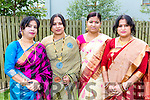 rita Chowdhury, Shilpi Saha, Monti Bhowmik and Shule Roy enjoying the Kerry Hindu Cultural Organistation who were celebrating the Sharadiya Durgotsav festival in Killarney on Monday
