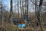 Russisch-orthodoxer Friedhof in Swjatsk.