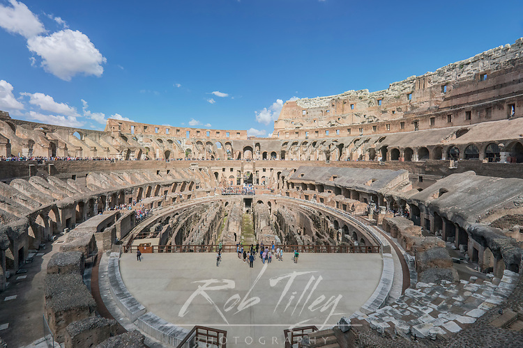 Europe, Italy, Rome, Colosseum