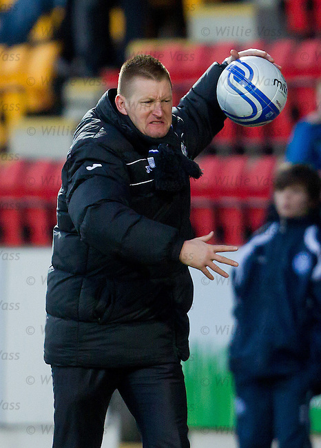 Steve Lomas not happy