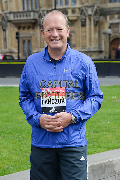 LONDON, ENGLAND - APRIL 19  Simon Danczuk, MP for Rochdale attend a Virgin Money London Marathon Photocall in Westminster, London, 19th April 2016, as Eight Members of Parliament are set to run the 2016 Virgin Money London Marathon.<br /> CAP/JWP<br /> &copy;JWP/Capital Pictures