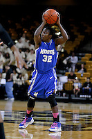 March 3, 2011: Memphis guard Ramses Lonlack (32) during first half womens Conference USA NCAA basketball game action between the Memphis Lady Tigers and the Central Florida Knights at the UCF Arena Orlando, Fl.