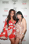Jerseylicious' Tracy DiMarco and VH-1 Mob Wives'  Rene Graziano attend New Premium Lounge Signed by INDASHIO Men's Collection Fashion Show at AUDI FORUM, NY  9/13/11