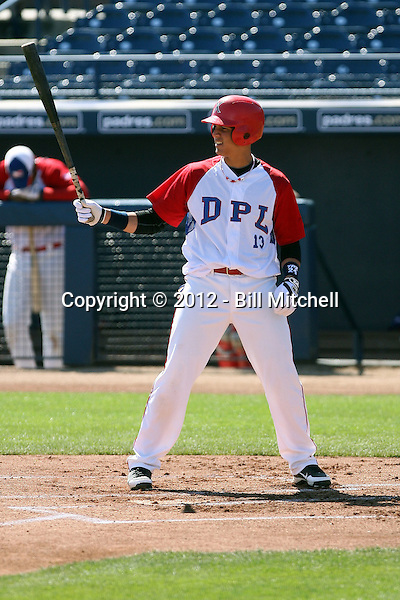 Luis Barrera - Dominican Prospect League all-stars 2012 minor league spring training (Bill Mitchell)