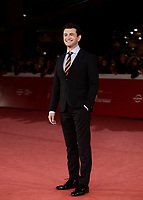 L'attore italiano Vinicio Marchioni posa sul red carpet per la presentazione del film &quot;The Place &quot; durante la Festa del Cinema di Roma, 2 novembre 2017.<br /> Italian actor Vinicio Marchioni poses on the red carpet to present the movie &quot;The place&quot; during the international Rome Film Festival at Rome's Auditorium, November 2, 2017.<br /> UPDATE IMAGES PRESS/Isabella Bonotto