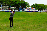 Brady Watt (AUS) on the 18th fairway during round 4 of the Australian PGA Championship at  RACV Royal Pines Resort, Gold Coast, Queensland, Australia. 22/12/2019.<br /> Picture TJ Caffrey / Golffile.ie<br /> <br /> All photo usage must carry mandatory copyright credit (© Golffile   TJ Caffrey)