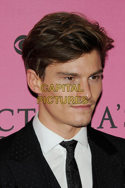 LONDON, ENGLAND - DECEMBER 2: Oliver Cheshire attends the pink carpet for Victoria's Secret Fashion Show 2014, Earls Court on December 2, 2014 in London, England.<br /> CAP/MAR<br /> &copy; Martin Harris/Capital Pictures