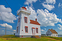 North Rustico Harbour lighthouse<br />