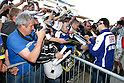 May 21, 2010 - Le Mans, France - Jorge Lorenzo signs autographs during the French Grand Prix at Le Mans circuit, France, on May 21, 2010. (Photo Andrew Northcott/Nippon News).