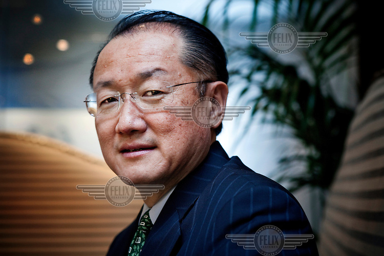 Jim Yong Kim, a Korean-American physician and 17th President of Dartmouth College. On March 23, 2012, President Barack Obama announced that the United States would nominate Kim as the next president of the World Bank.