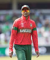 Shakib Al Hasan (Bangladesh) during Pakistan vs Bangladesh, ICC World Cup Cricket at Lord's Cricket Ground on 5th July 2019