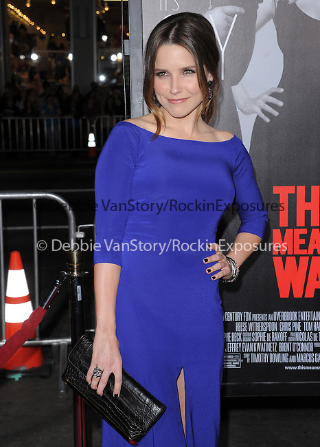 Sophia Bush at Twentieth Century Fox L.A Premiere of This Means War held at The Grauman's Chinese Theatre in Hollywood, California on February 08,2012                                                                               © 2012 Hollywood Press Agency