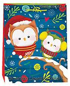 Dreams, CHRISTMAS ANIMALS, WEIHNACHTEN TIERE, NAVIDAD ANIMALES, paintings+++++,MEDAGBX45/4,#XA#