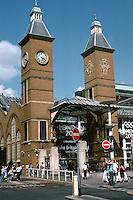 London: Liverpool St. Station. Old entrance 1874-75.  Photo 2005.