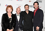 Becky Ann Baker, Jeffrey Kuhn, Marc Kudisch & James Barbour attending the Roundabout Theatre Company's One Night Only Benefit Cast Party for 'Assassins' at Studio 54 in New York City. December 3, 2012.