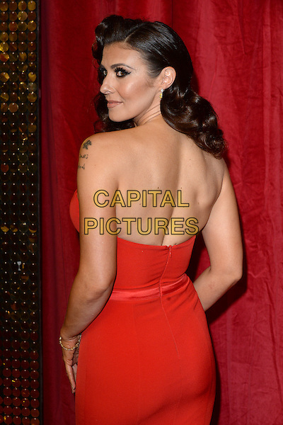 LONDON, ENGLAND - MAY 28: Kym Marsh attends the British Soap Awards 2016 at Hackney Town Hall on May 28, 2016 in London, England.<br /> CAP/BEL<br /> &copy;BEL/Capital Pictures