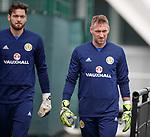 09.10.2018 Scotland training, Oriam: Craig Gordon and Allan McGregor