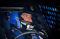 Sept. 20, 2008; Dover, DE, USA; Nascar Sprint Cup Series driver Ryan Newman during practice for the Camping World RV 400 at Dover International Speedway. Mandatory Credit: Mark J. Rebilas-