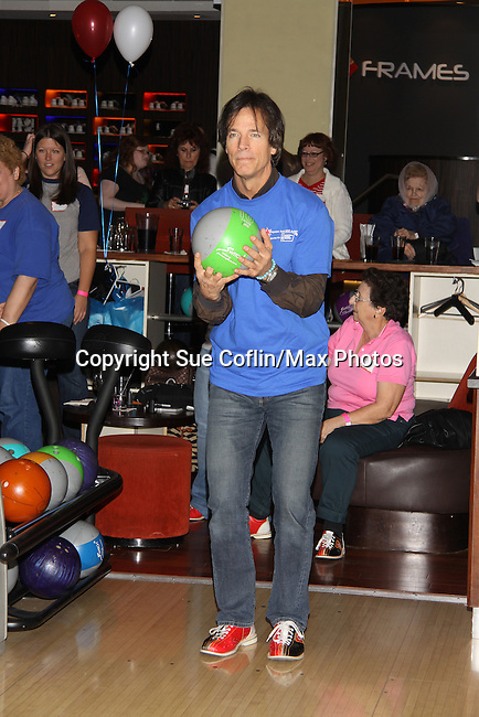 Guiding Light's Bradley Cole bowls at The Seventh Annual Daytime Stars and Strikes benefitting The American Cancer Society hosted by Elizabeth Keifer and Jerry VerDorn with actors from One Life To Live, All My Children, As The World Turns and Guiding Light on October 9, 2010 in New York City, New York. (Photo by Sue Coflin/Max Photos)